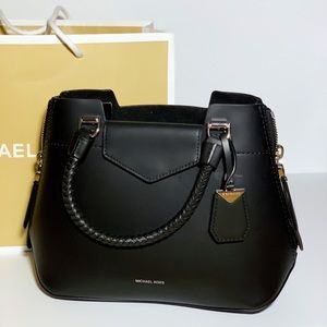 MICHEAL KORS Blakely Leather Satchel